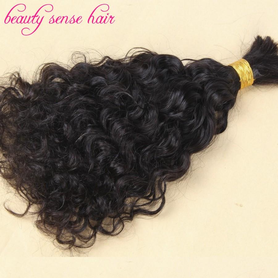 Free Shipping Human Braiding Hair Bulk 3pcslot Brazilian