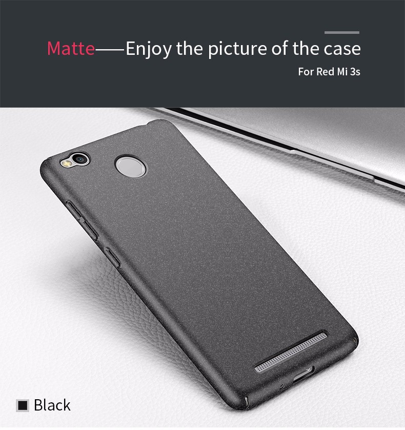 Luxury Hard Back Plastic Matte Case for Xiaomi redmi 3s cases For Xiaomi redmi 3 s pro Case Phone Cases Full Cover PC Cell