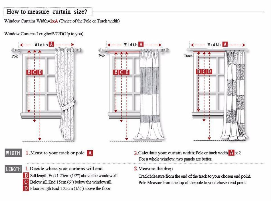 Curtain Sizes Width Or Drop First Gopelling Net