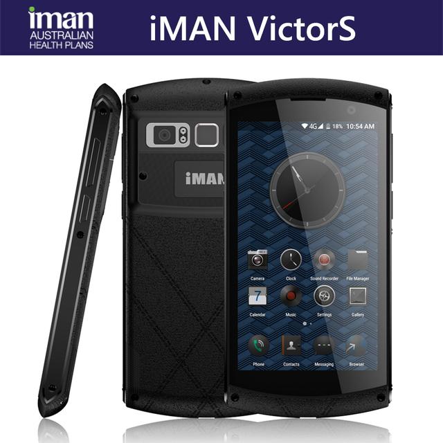 iMAN Victor S IP67 Waterproof Phone 2GB 16GB Fingerprint 4500mAh 5.0 inch 4G Smartphone MT6735 Quad Core Dual SIM Mobile Phone