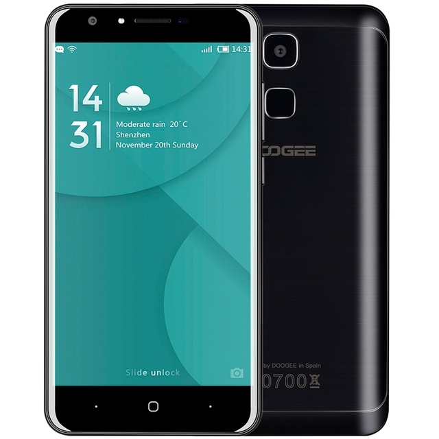 Doogee Y6 Android 6.0 Smartphone 5.5 inch 2.5D Screen 4G Phablet MTK6750 Octa Core 1.5GHz 2GB RAM 16GB ROM 13MP + 8MP Phones