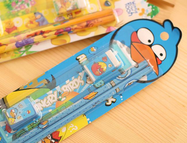 2622122702_1758922470  10packs/lot 5 in One Disny Mickey Snowwhite Kitty Pencil Writing Pen Stationery Kits Children Birthday Occasion Favor Take-home Items HTB1i8raNpXXXXcNXpXXq6xXFXXXd