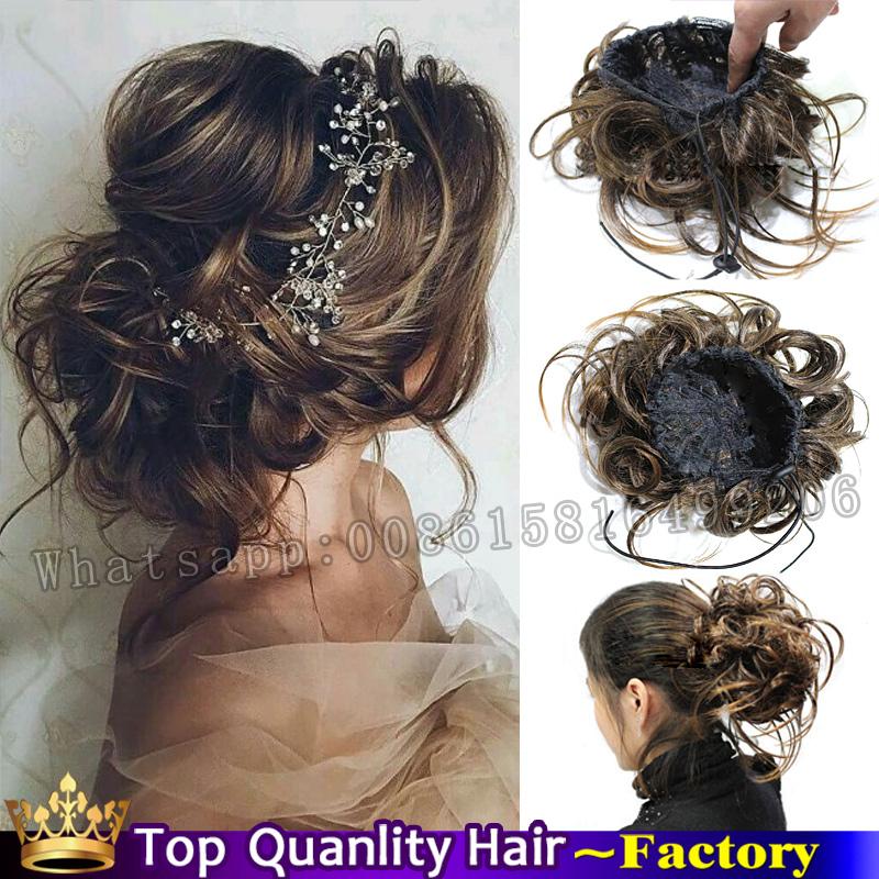 Popular Bun Hair Pieces Buy Cheap Bun Hair Pieces Lots