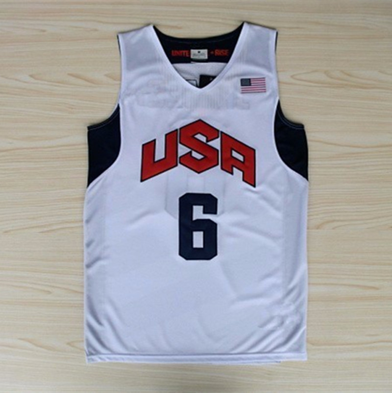 Lebron White Jersey Games