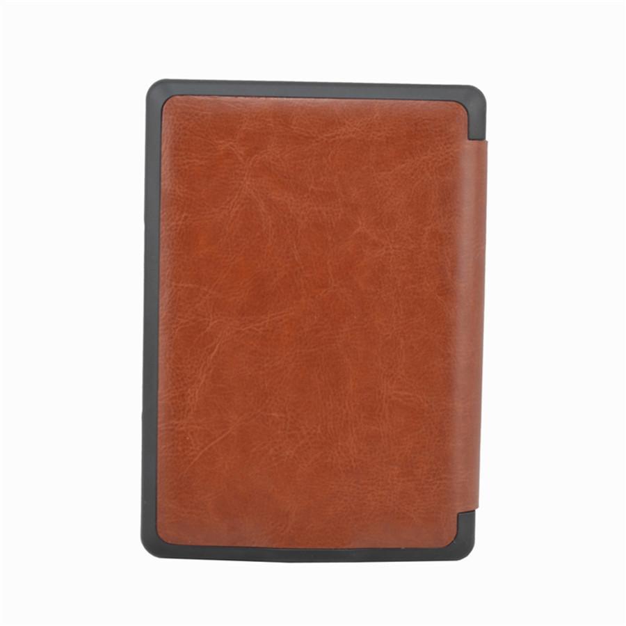 מגנט סגירה סגנון עור PU כיסוי חכם במקרה אמזון קינדל 4 / 5 צבעים + מגן מסך משלוח חינם