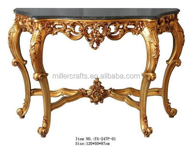 Style Rococo Meubles Salon Antique Or Console Table Tables Anciennes Id De Produit 500007584791 French Alibaba Com