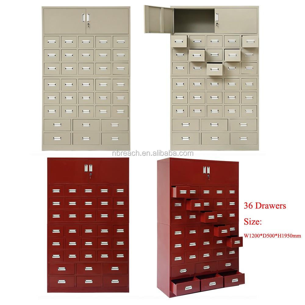 60 Casier De Stockage De Tiroir Tiroirs Cabinet Classeur