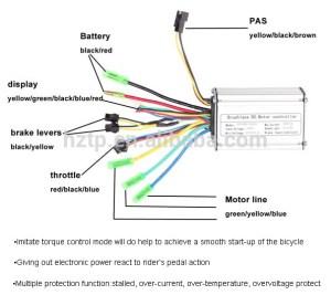 Electric Bike Motor Controller 36v  Buy Electric Bike 36v Controller,36v15a Controller,Electric