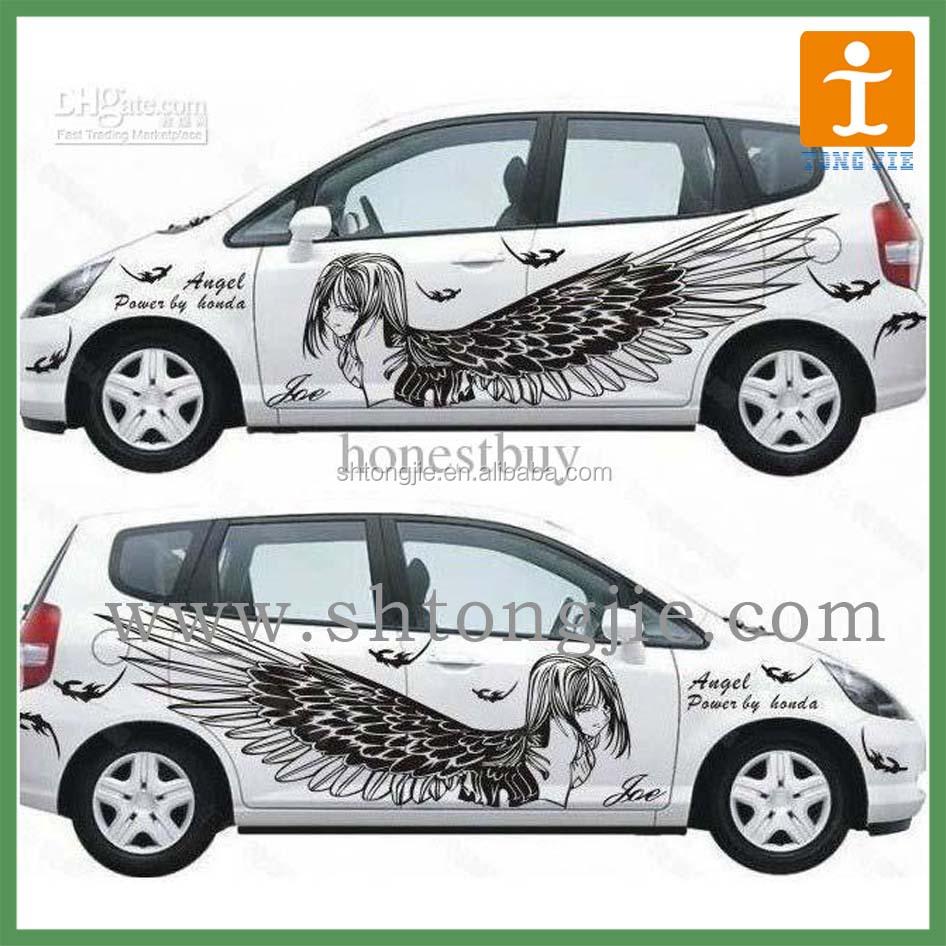 Car sticker maker app - Advertising Body Car Sticker Custom
