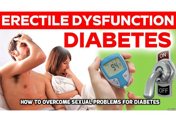 Sex warning: Having diabetes could trigger THESE Sexual Problems - Sex warning: Both Type 1 and Type 2 Diabetes sufferers could experience sexual dysfunction from uncontrolled symptoms. Diabetes is one of the fastest growing health conditions in many parts of the world, and affects one in every 16 people. If left untreated or poorly managed it could lead to a number of complications.