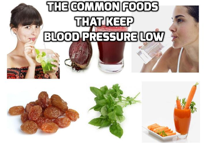 These Common Foods Here Can Really Keep Blood Pressure Low - If you are looking for ways to keep blood pressure low naturally, read on here to find out more. There is a video clip on how to lower blood pressure quickly and naturally.