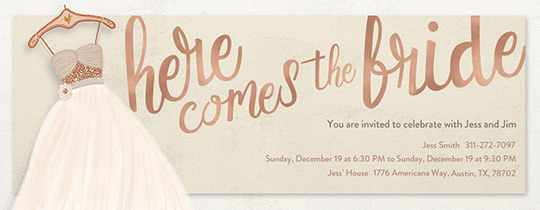 Bridal Shower Invitations Templates To Inspire You On How Create Your Own Invitation 7