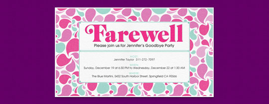 Going away party invitation sayings cogimbo going away party invitation gangcraft net stopboris Images