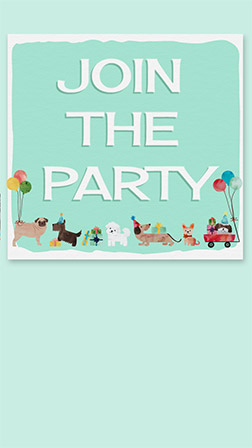 free pet party animal themed online