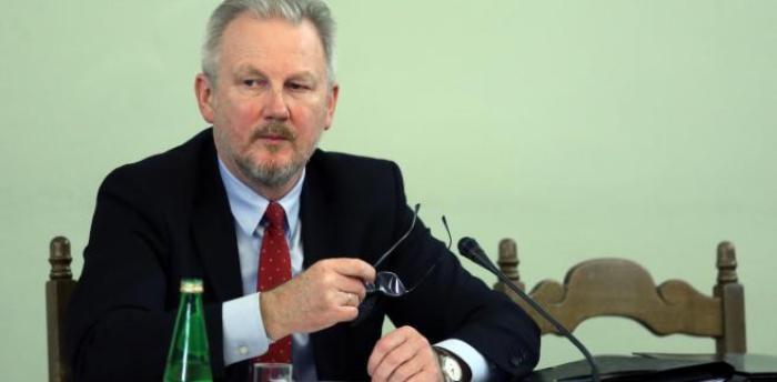 Zastępca przewodniczącego Komisji Nadzoru Finansowego Wojciech Kwaśniak zeznaje przed sejmową komisją śledczą ds. Amber Gold