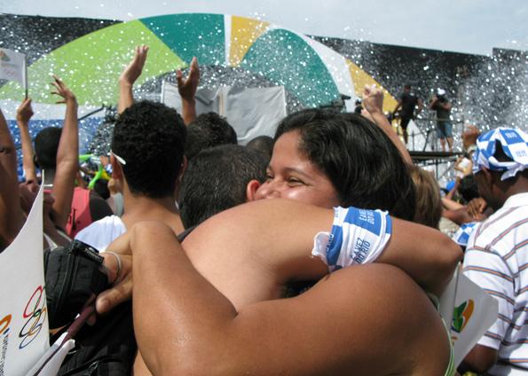 Comemoraçõs no Rio