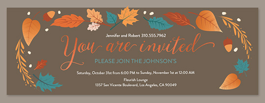 Family Gathering Online Invitations