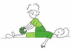 """Resultat d'imatges per a """"masaje con pelotas de tenis infantil"""""""