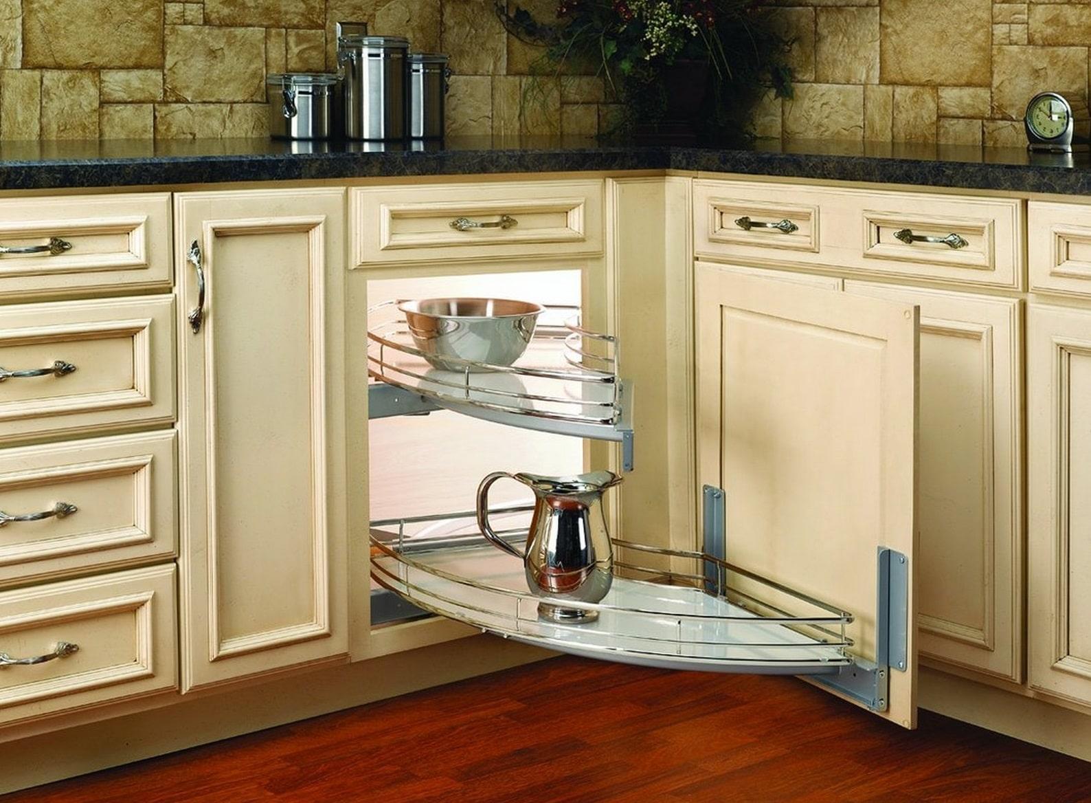 coolest kitchen corner cabinets best