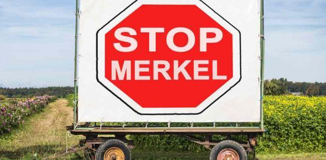 Znalezione obrazy dla zapytania amerykański policzek dla Merkel