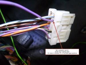 Reverse Camera Wiring Diagram 4 Pin   Wiring Library