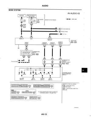 bose wiring diagram  G35Driver  Infiniti G35 & G37 Forum