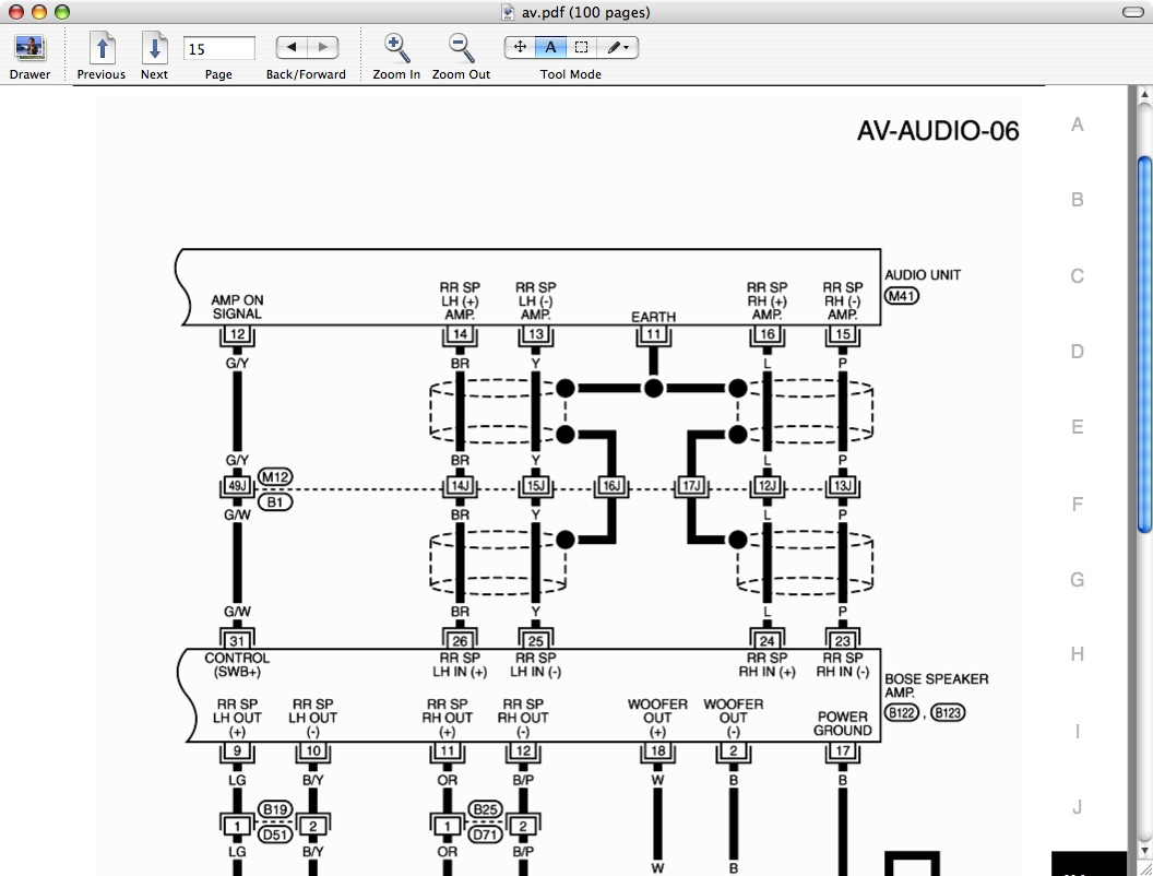 Wiring Diagram: 30 Infinity 36670 Amp Wiring Diagram