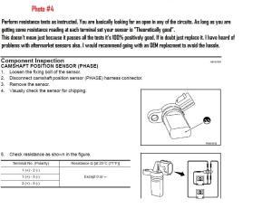 DIY Cam Position Sensor Easy Version  G35Driver