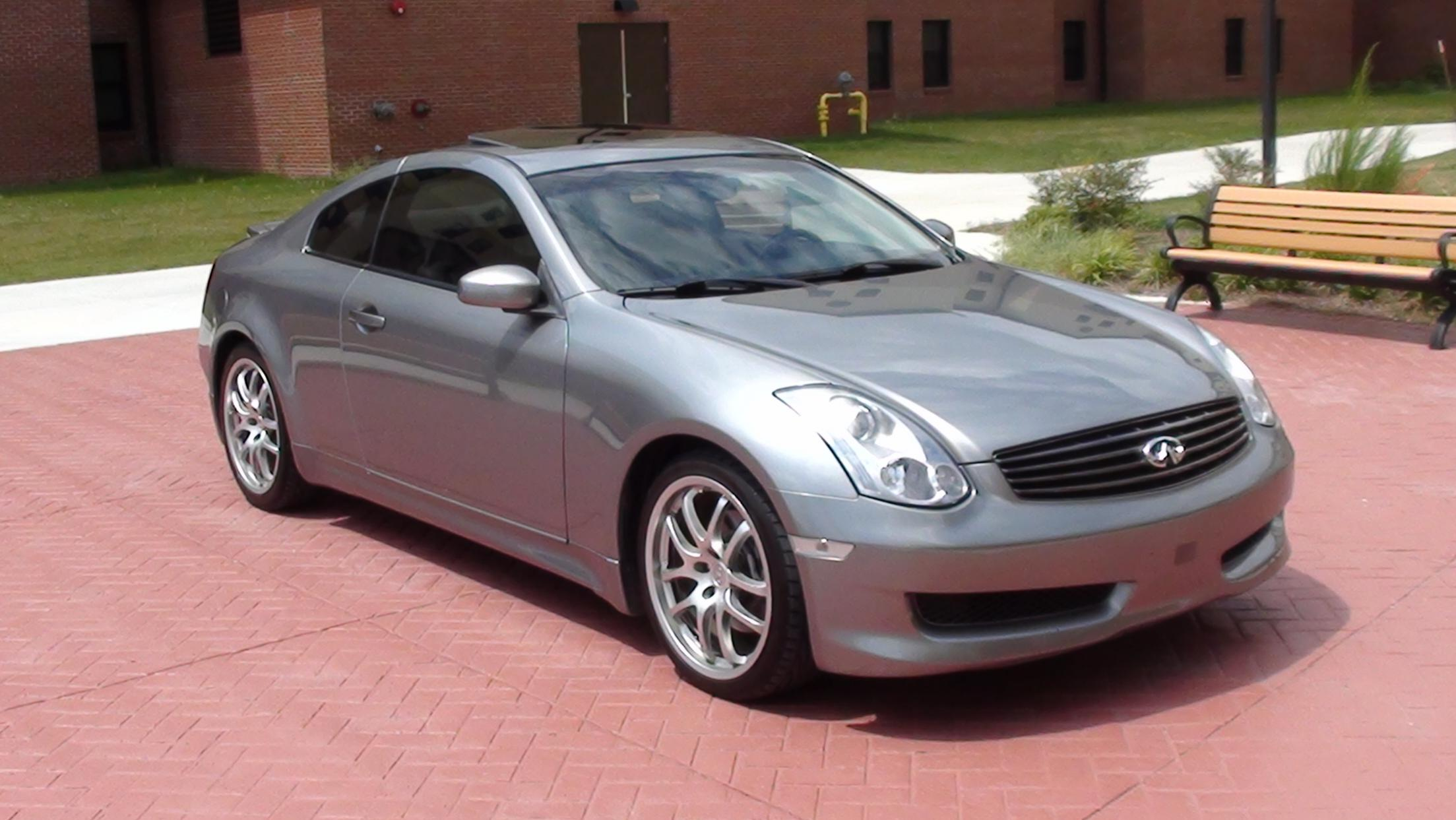 Fs G35 Coupe 19 Rays Fully Loaded Beautiful