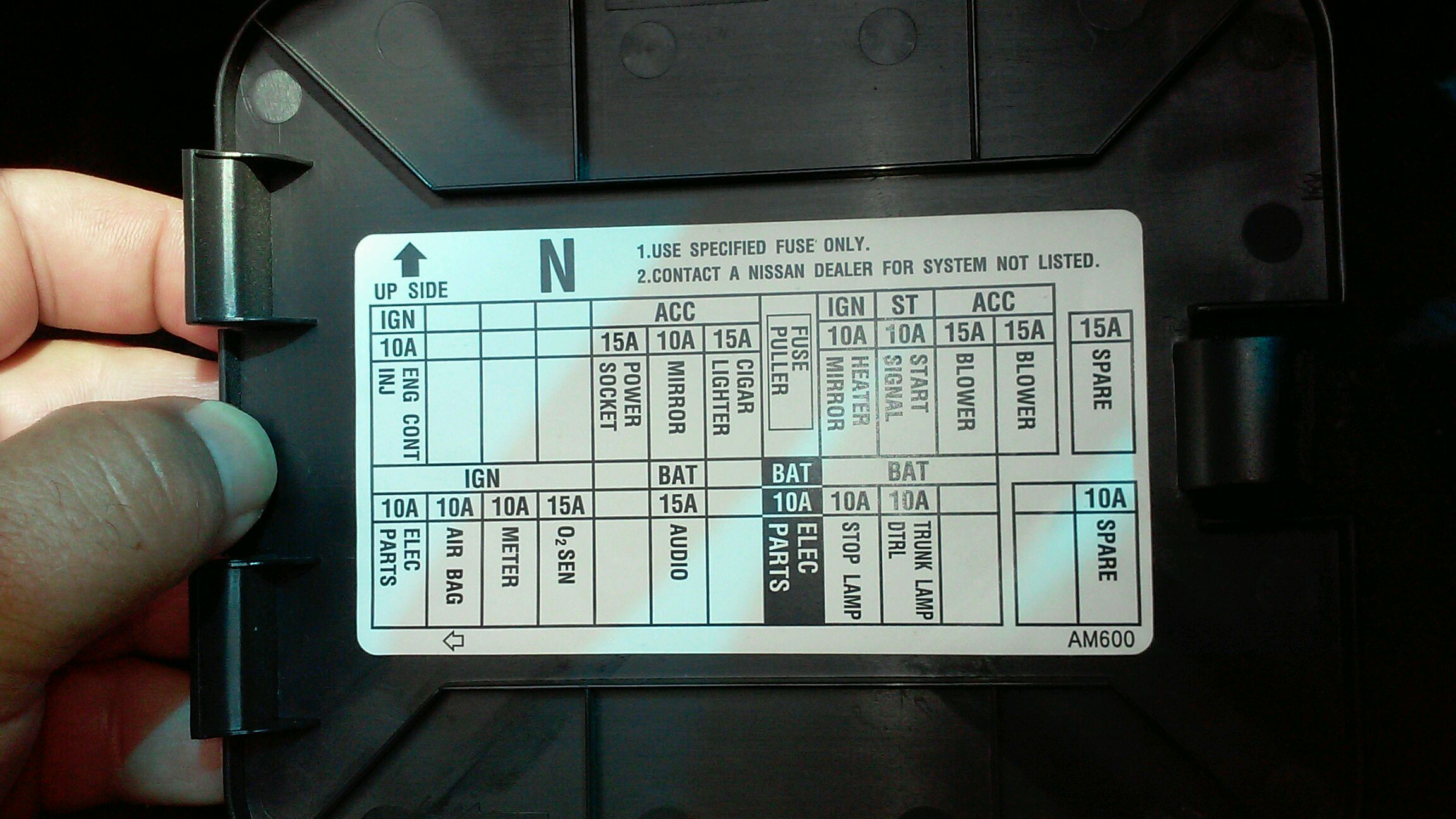 2004 G35 Fuse Box Cover - Wiring Diagram Gol Fuse Box For G on