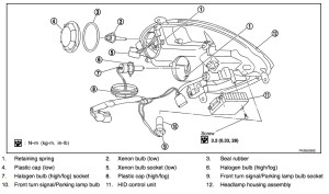 06 Sedan Headlight Wiring  G35Driver  Infiniti G35 & G37