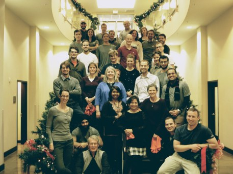 G360 Christmas party 2015
