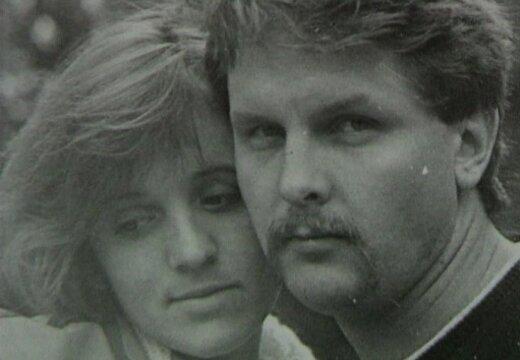 Kopā ar sievu Daigu. Foto no Gvido Zvaigznes ģimenes arhīva