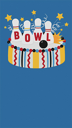 send free online bowling party or