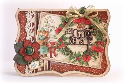 Glad Tidings Amp Christmas Cards From Graphic 45 Graphic 45