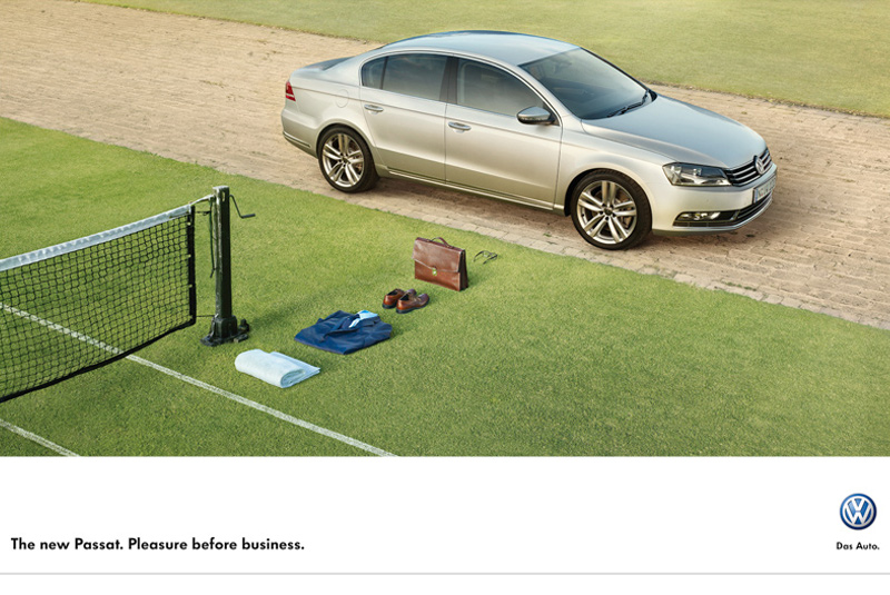 VW Passat | Pleasure Before Business | Tennis