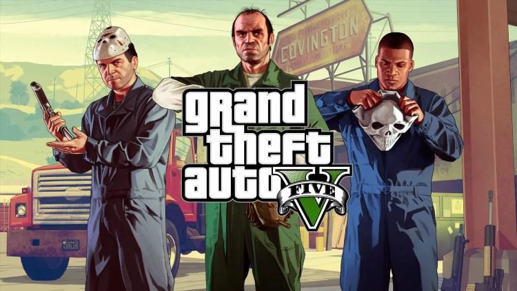 Foto game GTA 5