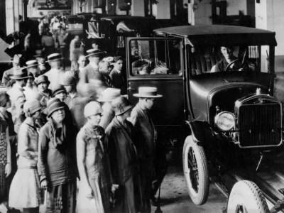 Primeira fabrica Ford no Brasil