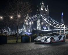 1• Lambo Sían vai rodar em Londres