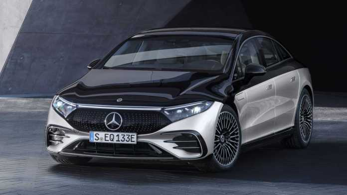 Mercedes Benz EQS 2022