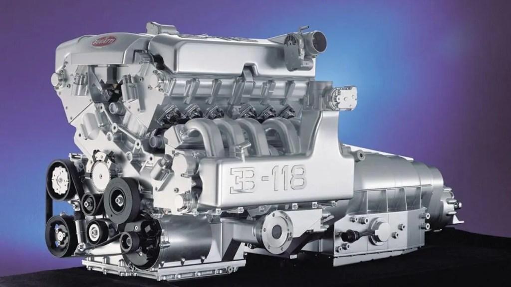 Motor Bugatti de 18 cilindros