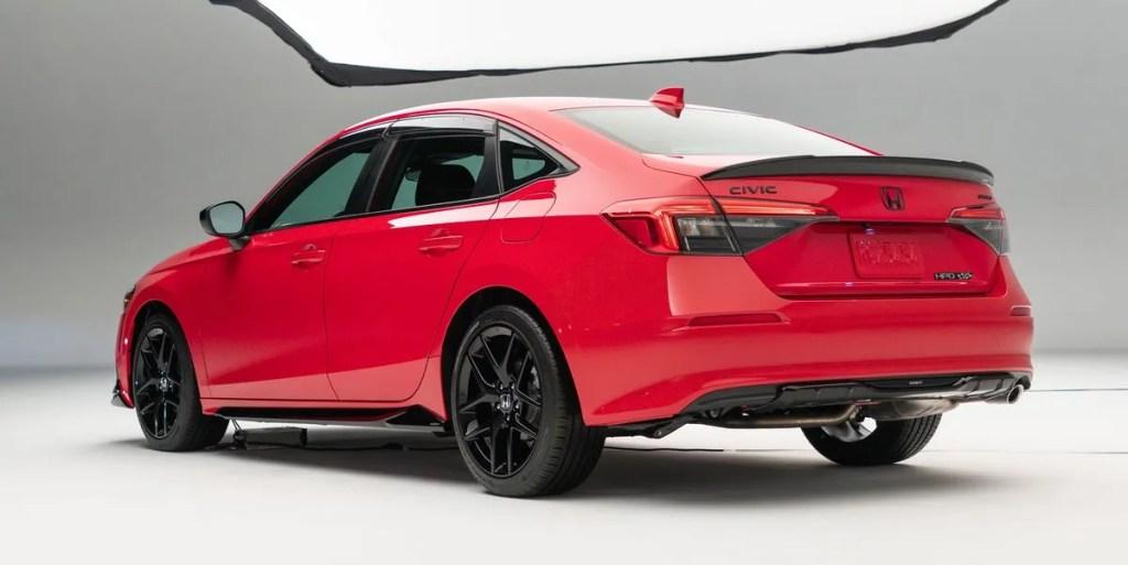 Novo Honda Civic 2022 com peças HPD
