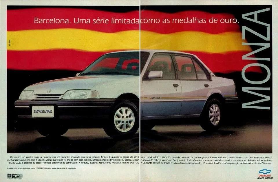 1992 - Chevrolet Monza Barcelona