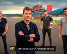 Tom Cruise desafia Colthard e Webber a bordo do Porsche 911GT3