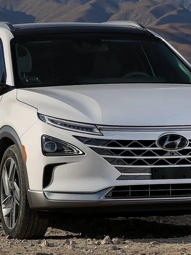 Hyundai Nexo – Movido a hidrogênio e purificando o ar