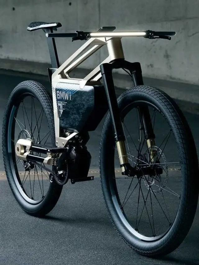 BMW i-Vision Amby – Bike elétrica com autonomia de 300km
