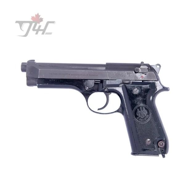 "Beretta 92S Italian Police Surplus 9mm 4.9"" BRL Black"