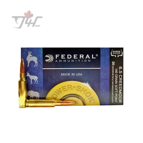 Federal Power-Shok 6.5Creedmoor