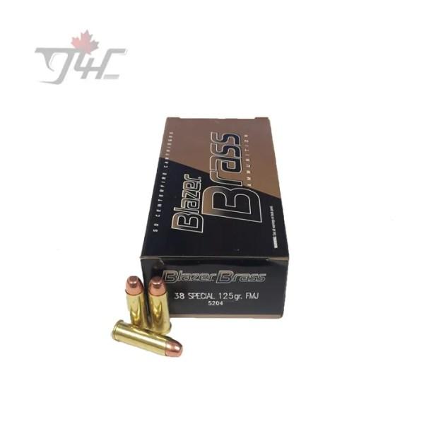 CCI Blazer-Brass .38Special