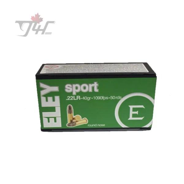 Eley Sport .22LR 40gr